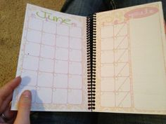 Sherbert Cafe: Free Planner Printable - Girly Style