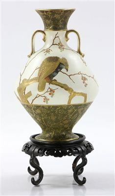 Wedgwood Parcel Gilt Baluster Vase