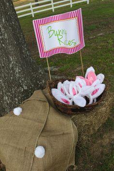 An Easter Celebration Birthday Party Ideas   Bunny Races