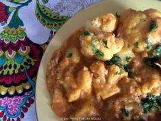 Curry de chou-fleur et pommes de terre • Hellocoton.fr