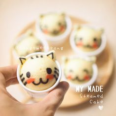 Cat Steam Cakes Recipe - Song Sweet Song
