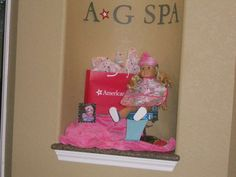 American Girl Doll, Spa, Zebra Birthday Party Ideas   Photo 1 of 39   Catch My Party