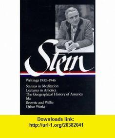 Stein Writings 1932-1946 1932-1946, Volume 2 (Library of America) (9781883011413) Gertrude Stein , ISBN-10: 1883011418  , ISBN-13: 978-1883011413 ,  , tutorials , pdf , ebook , torrent , downloads , rapidshare , filesonic , hotfile , megaupload , fileserve
