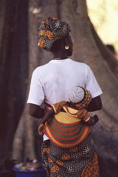 Dogon mother with child | Flickr - Photo Sharing!