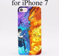 Sasuke vs Naruto graphic phone case