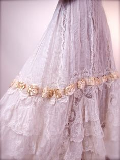 Lace and Ribbon Details