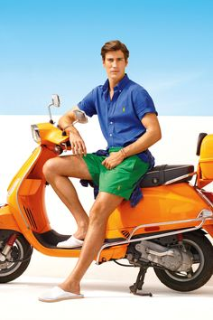 Blend preppy and iconic pieces from Polo for a refined sensibility this summer