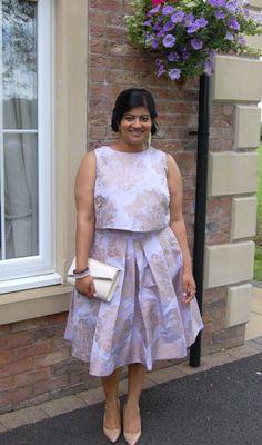078daff5e Simplicity 8086 by Cynthia Rowley: DIY Brocade Wedding Guest Outfit