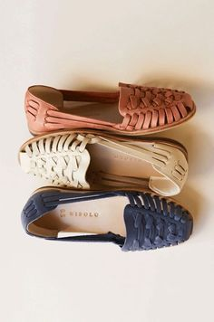 Shop fair trade leather sneakers and babouches, woven flats, huarache sandals and raffia slides, curated by Accompany Cute Shoes, Me Too Shoes, Estilo Hippie, Vetement Fashion, Leather Sandals, Flat Sandals, Gladiator Sandals, Flats, Summer Shoes