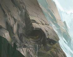 ArtStation - Pathways And Caverns, Lucas Helmintoller
