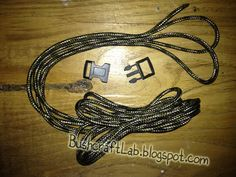 Bushcraft Lab Italia: Come fare un Bracciale in paracord 550
