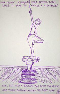 Iyengar Yoga - www.AlternativeBalance.net