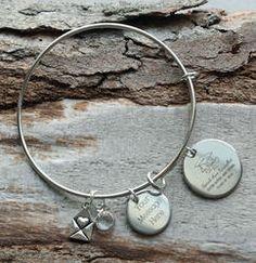 Graduate Personalized  Wire Bangle Bracelet