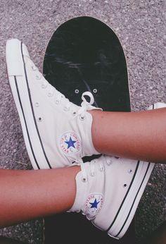white converse... I'm now kinda obsessed