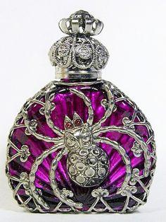 Purple Perfume Bottle <3