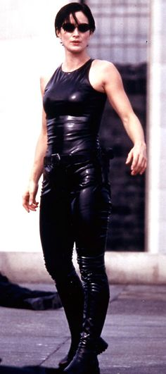 The Matrix - Carrie-Anne Moss - Trinity