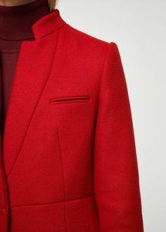 Pocketed wool coat | MANGO