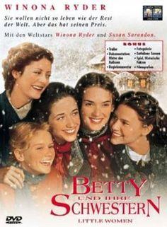 Betty und ihre Schwestern  1994 USA,Canada      Jetzt bei Amazon Kaufen Jetzt als Blu-ray oder DVD bei Amazon.de bestellen  IMDB Rating 7,1 (23.912)  Darsteller: Winona Ryder, Gabriel Byrne, Trini Alvarado, Samantha Mathis, Kirsten Dunst,  Genre: Drama, Romance,  FSK: 6