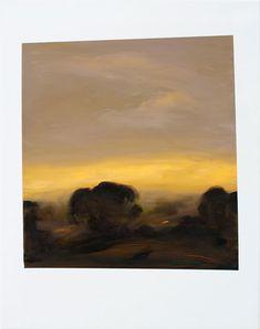 Peter Frie . oil on paper, 90x70cm