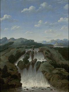 Frans Post, Cachoeira de Paulo Afonso, 1649