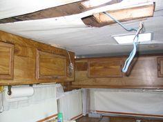 Trailer Water Damage Repair Picture Campers Pinterest