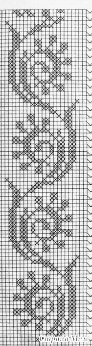@nika Loom Beading, Beading Patterns, Embroidery Patterns, Cross Stitch Patterns, Crochet Patterns, Filet Crochet, Crochet Borders, Knitting Charts, Knitting Stitches