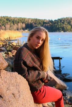 Took some photos of my gorgeous friend, Marte. Location Norway