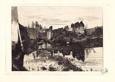 Moulin Richard, alias Moulin Burli, près de Condat., vers 1890, Charles Giroux - Bfm Limoges http://www.bn-limousin.fr/items/show/104