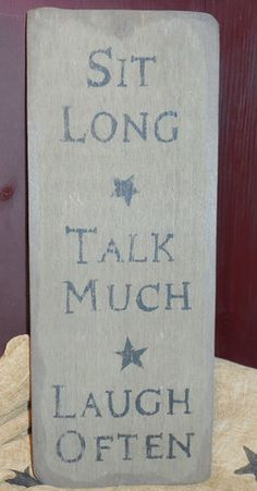 Sign for Porch