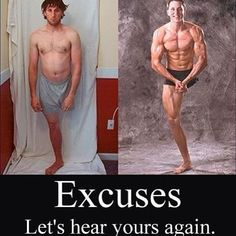 What's your excuse again?