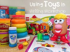 This is a great post that provides lots of creative uses to use toys to encourage more detailed writing from your students! {Via Creating Readers and Writers: Teaching with Toys}
