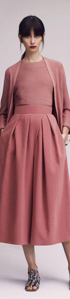 cherry skirt blouse  @roressclothes closet ideas women fashion outfit clothing style Lyn Devon -2016: