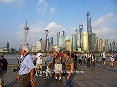 Pudong seen from the new bund