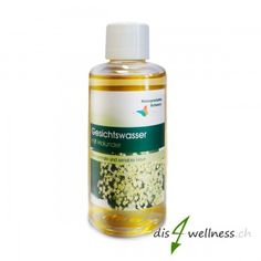 Holunder-Gesichtswasser - für normale und sensible Haut, 100ml Wellness, Organic Beauty, Products, Elder Flower, Liquor
