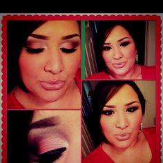 MakeupJunkie (MAC's Paradisco eyeshadow & Pink Lemonade lipgloss) <3