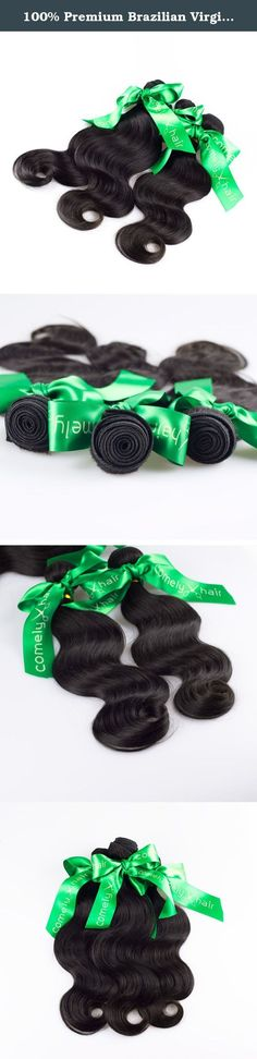 100% Premium Brazilian Virgin Hair Weave Body Wave 3 Bundles Pack 300gram 12-30inch Natural Color Unprocessed Human Hair (3pcs of 12inch). Brought you only 100% top graded REAL human hair. Priced as factory wholesale and directly shipping via International Priority from our own factory where it is assembled and packaged. This is how we are able to provide a product with the strictest quality standards for an unbeatable price. Our REAL human hair is completely natural and no chemical...