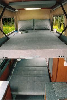 Sportsmobile Custom Camper Vans - Sprinter Penthouse Top