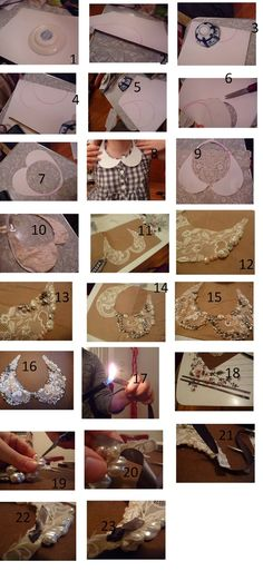 DIY: EMBELLISHED COLLAR