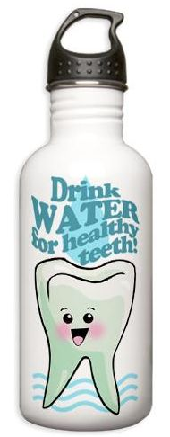 The benefits of drinking water. #DeltaDental