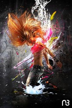 Personal project - Dancer girl photo manipulation with photoshop Montage Photo, Hip Hop Art, Dance Poses, Street Dance, Modern Dance, Lets Dance, Art Graphique, Dance Pictures, Dance Studio