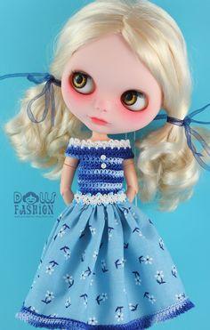 OOAK Beautiful Dress for Blythe Girl Dolls by ShopDollsFashion, €12.68
