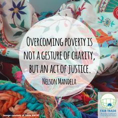 Fair Trade is not an act of charity, but a radical movement that challenges conv. Fair Trade is not an act of charity, but a radical movement that challenges conventional trade practices