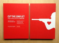 Cut The Conflict. Noma Bar.