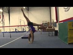 Drills and progressions in order to teach gymnasts how to back walkover. This video begins when gymnasts can bridge, and finishes with back walkovers on beam. Gymnastics Lessons, Boys Gymnastics, Gymnastics Floor, Gymnastics Tricks, Gymnastics Coaching, Gymnastics Training, Gymnastics Workout, Olympic Gymnastics, Olympic Games