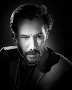 Keanu Reeves By Studio Harcourt Paris Find This Pin And More On CELEBRITY BLACK WHITE PORTRAITS