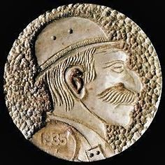 Owen Covert - Big Nosed Man Wearing Hat Antique Coins, Jewelry Collection, Classic Style, Auction, Hat, Personalized Items, Antiques, Buffalo, Cactus
