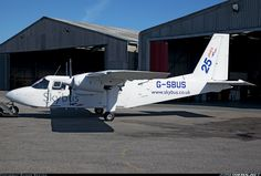 Skybus Britten-Norman BN-2A-26 Islander  Land's End / St. Just (LEQ / EGHC) UK - England, April 14, 2014