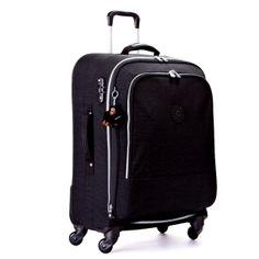 Yubin 81 Spinner Luggage in Black #Kipling #KiplingSweeps