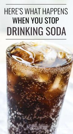 Stop drinking soda… it's on so many people's new years resolutions each year. It was on mine last year and … Keto Drink, Diet Drinks, Healthy Drinks, Stop Drinking Soda, Quit Drinking, Soda Addiction, Diet Coke Addiction, Soda Alternatives, Healthy Soda