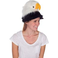 Extra guidance Rittle Bald Eagle Animal Hat, Realistic Plush Bird Costume Headwear - One Size for  Halloween Gifts Idea Deal for  #Halloween Gifts Idea Shoppers